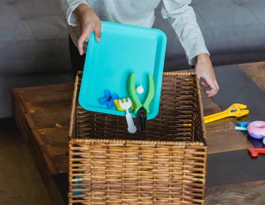 Organizing toys
