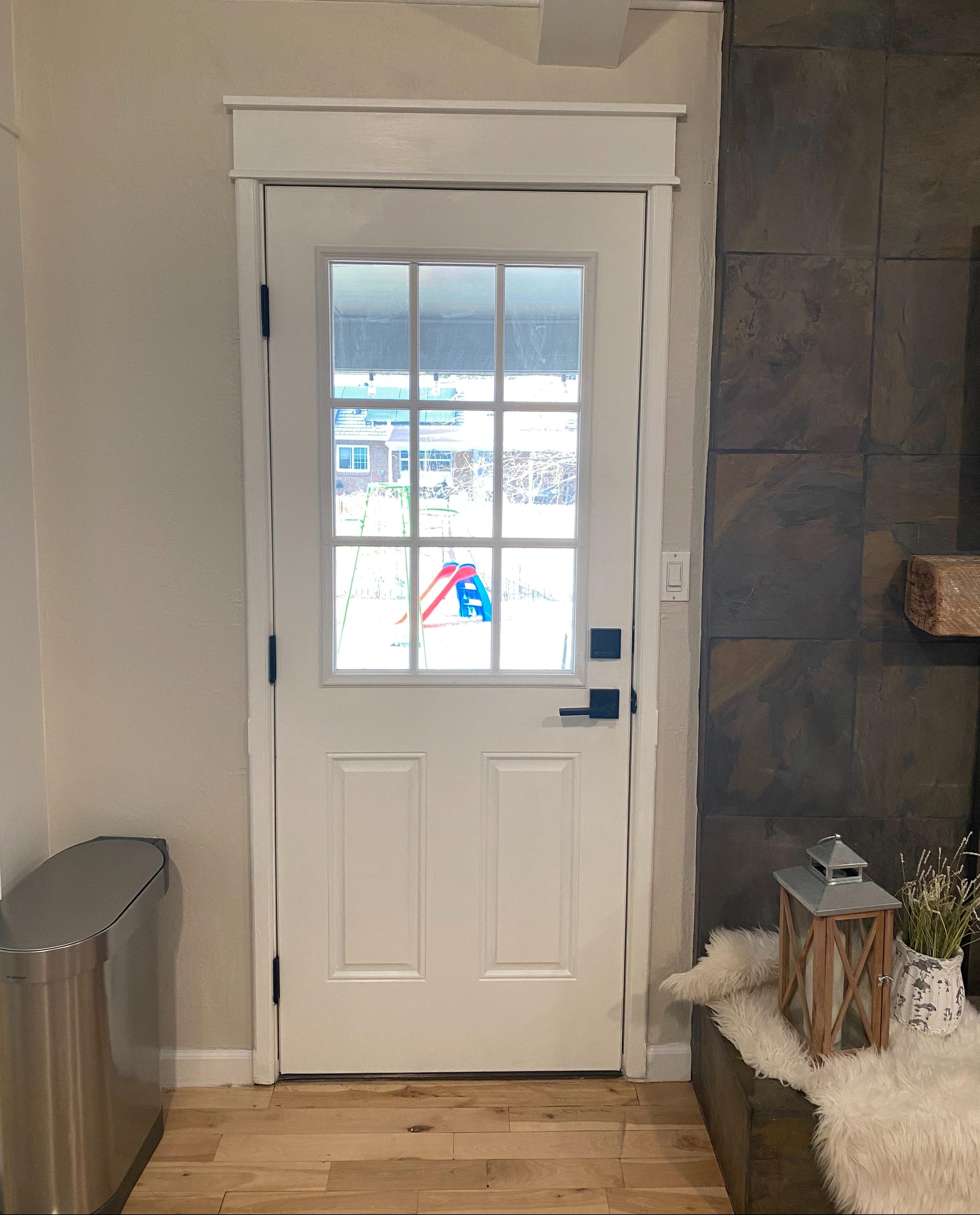 Door Trim After