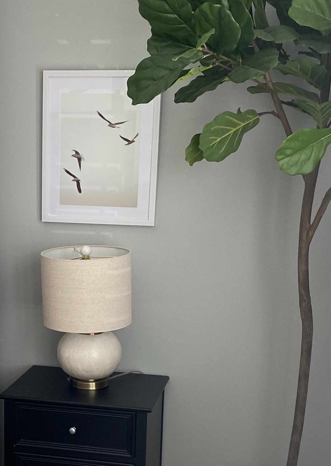 Bedroom end tables decor