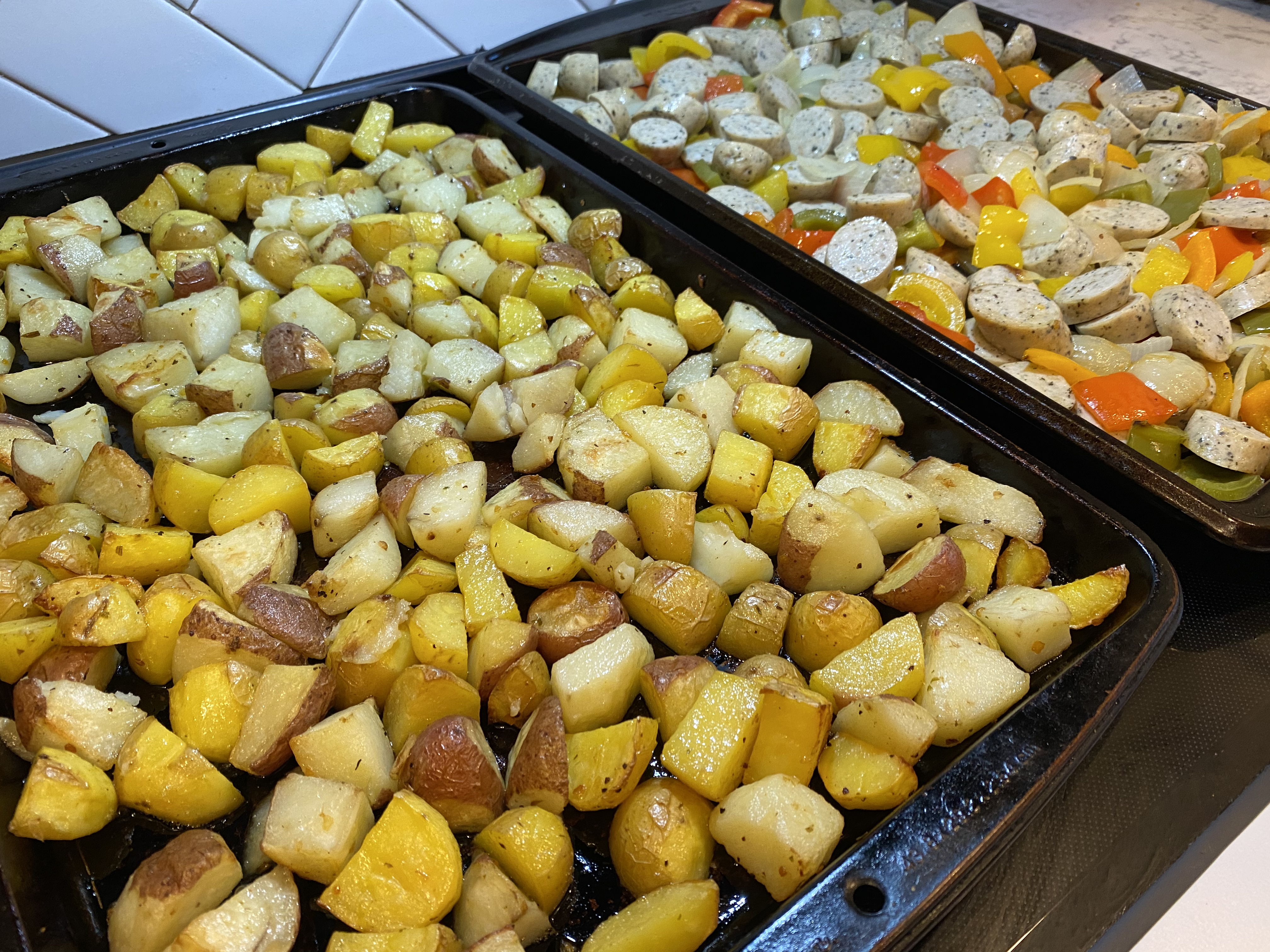 Chicken Apple Sausage Meal