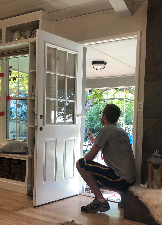 Door trim before