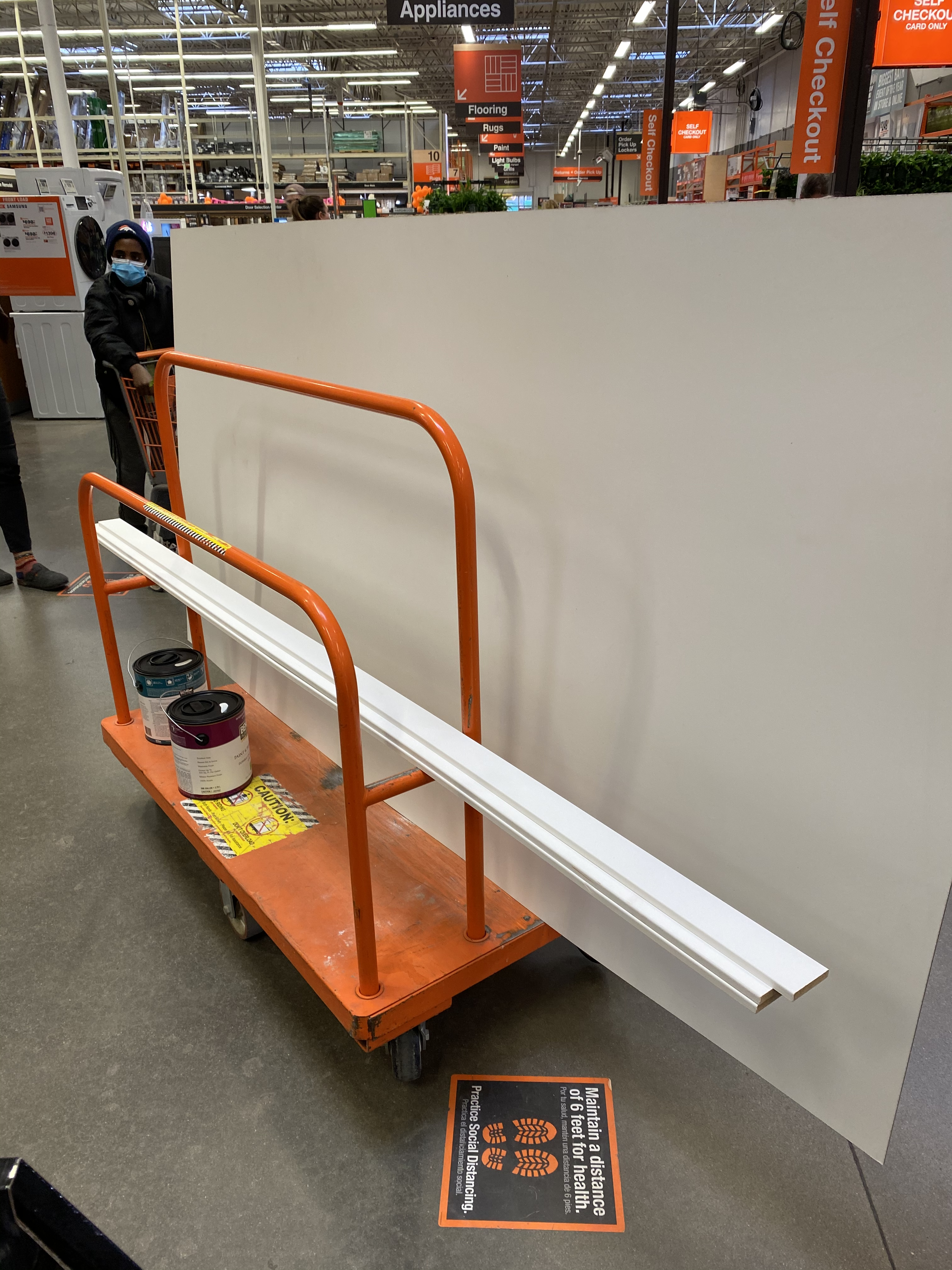 Home Depot purchase
