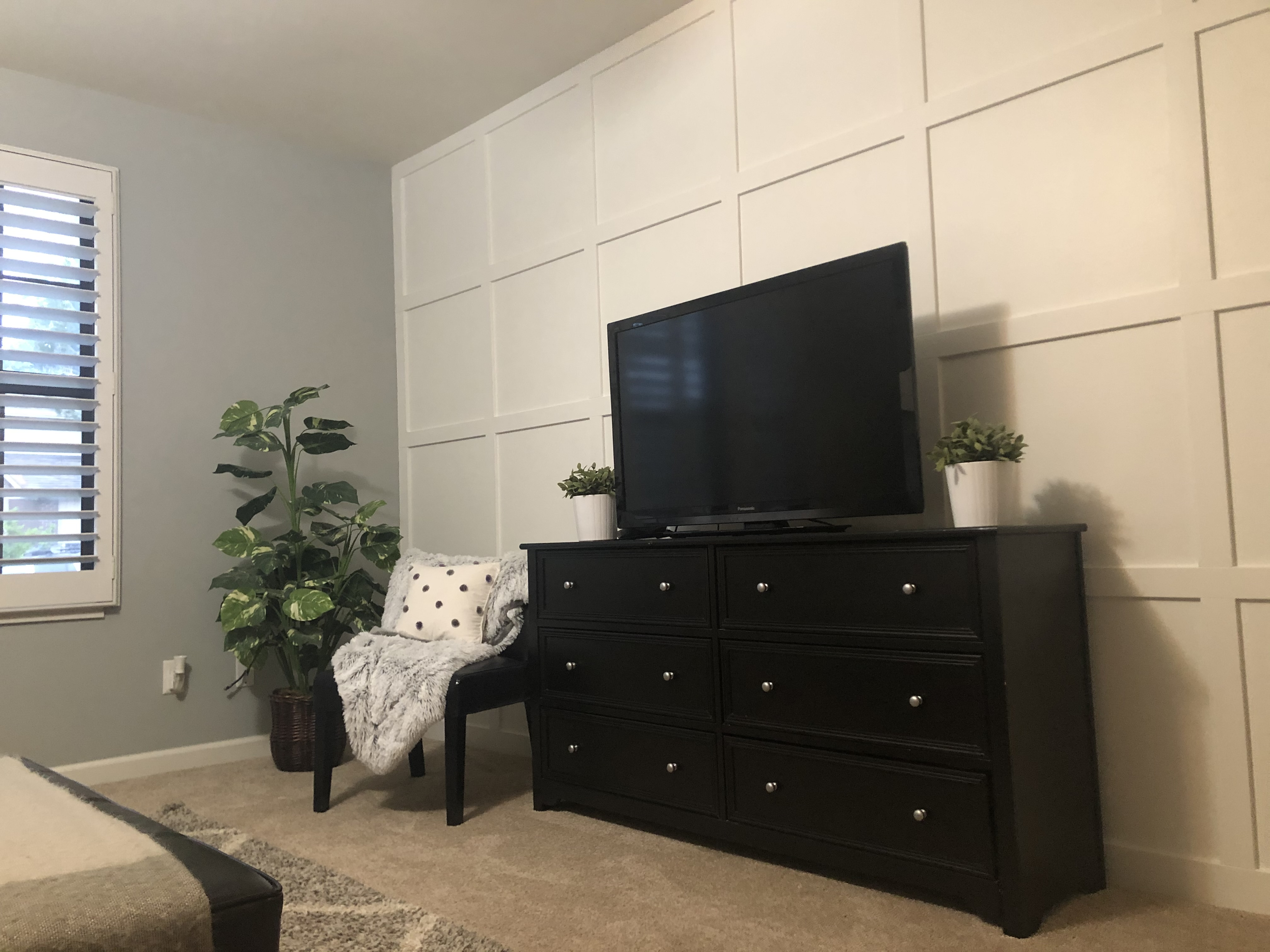 Square Accent Wall