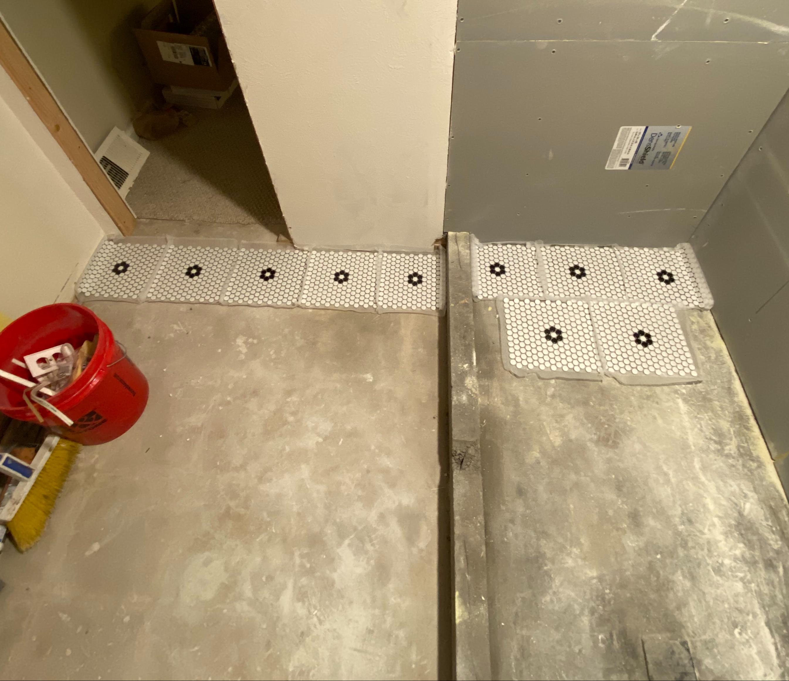 Floor Tile Plan