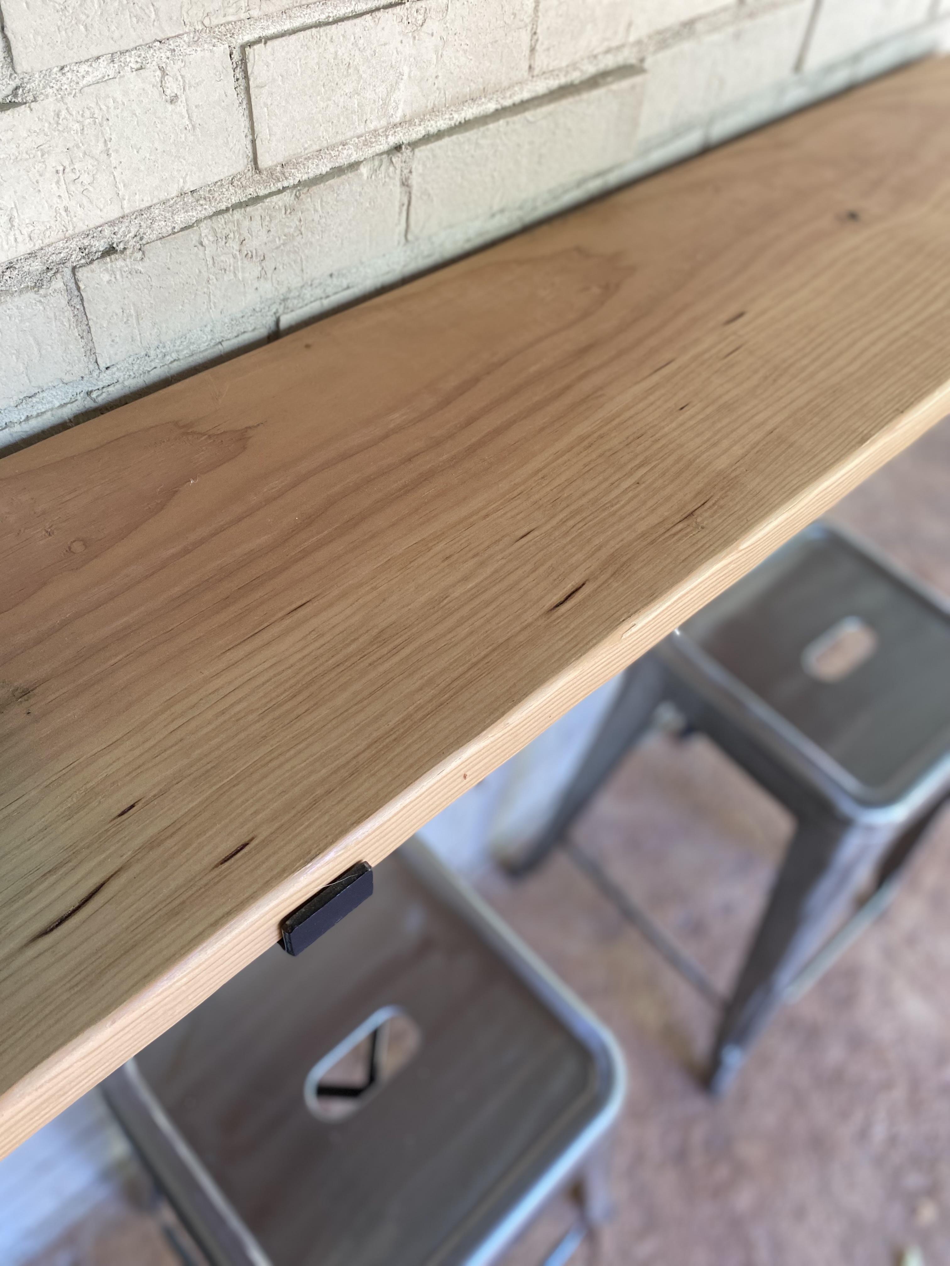 DIY wood shelf or bar