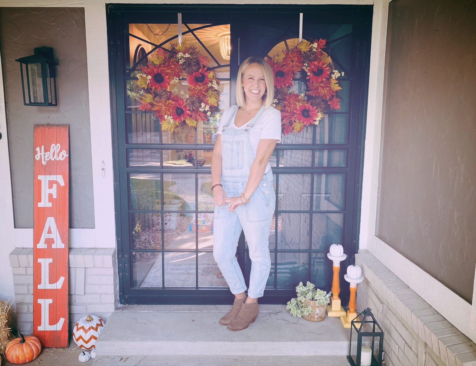 5 Steps to Decorate your Fall Front Porch
